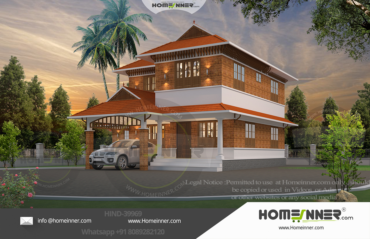HIND-39969  Home Design Free Estimate  villa construction budget