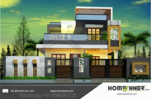 Khagaria 20 Lakh box type house design in kerala