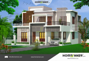 Yanam 15 Lakh contemporary mansion floor plans