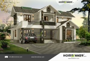 South Tripura 24 Lakh small modern home plans