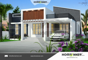 Sivaganga 10 Lakh small house architecture design