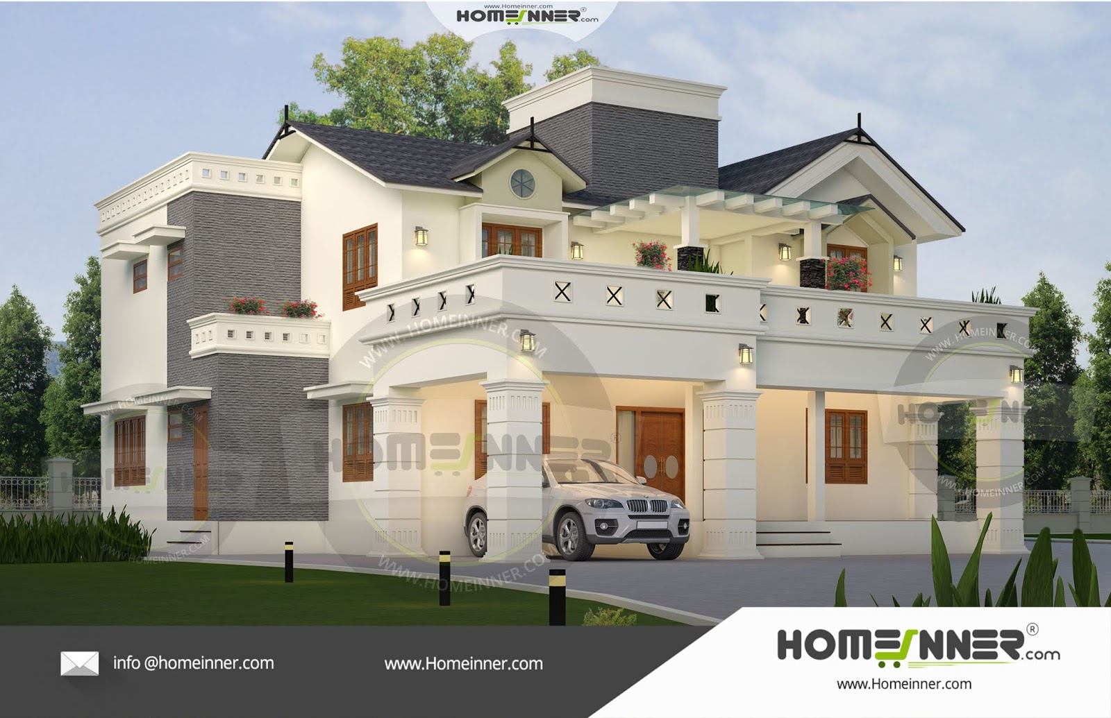 South Tripura 35 Lakh beautiful home front elevation