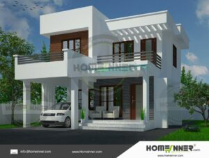 HIND-9981 house plan area