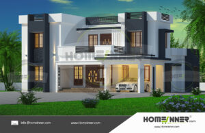 Ratlam 31 Lakh blueprint modern house