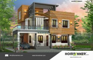 HIND-9991 House plan 3D Elevations