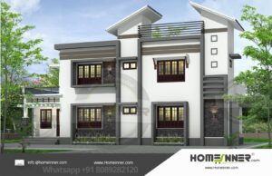 West Siang  19 Lakh simple modern home design