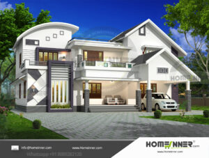 HIND-1023 house plan Rooms Amenities