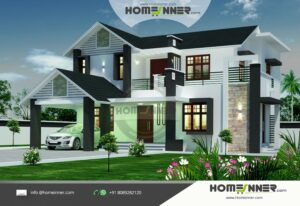 HIND-1068 house plan Rooms Amenities