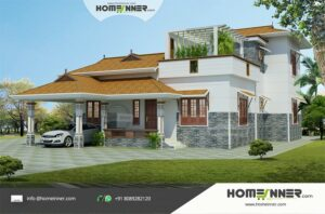 HIND-1082 house plan Rooms Amenities