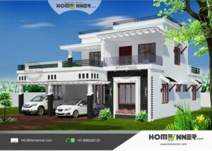 HIND-1083 house plan Rooms Amenities