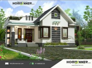 HIND-1091 House plan 3D Elevations