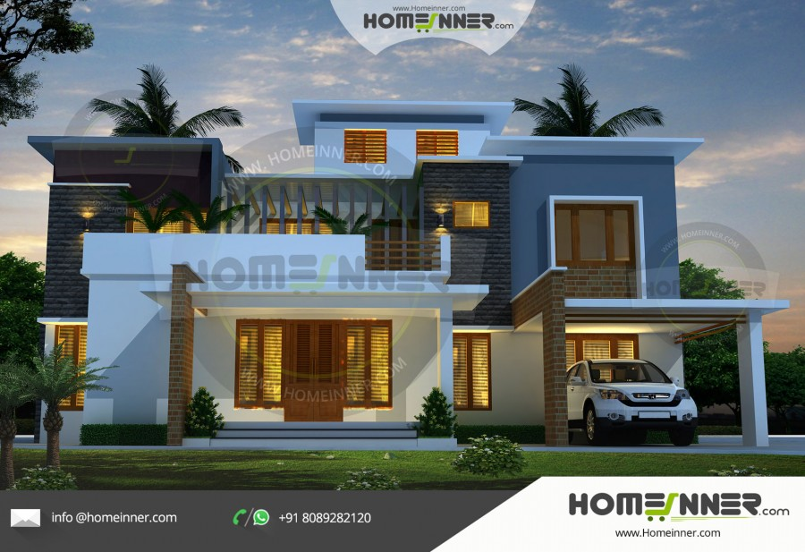 South Tripura 26 Lakh small home designs with garage