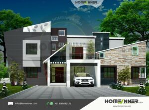 Gandhinagar 27 Lakh modern small house plans with pictures
