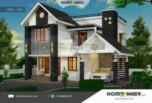HIND-1405 house plan size