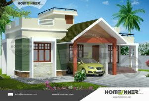 Porbandar 10 Lakh single roof house plans