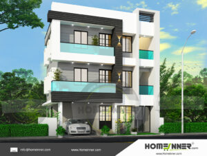 HIND-5014 house plan Rooms Amenities
