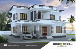 Chennai 22 Lakh house design contemporary