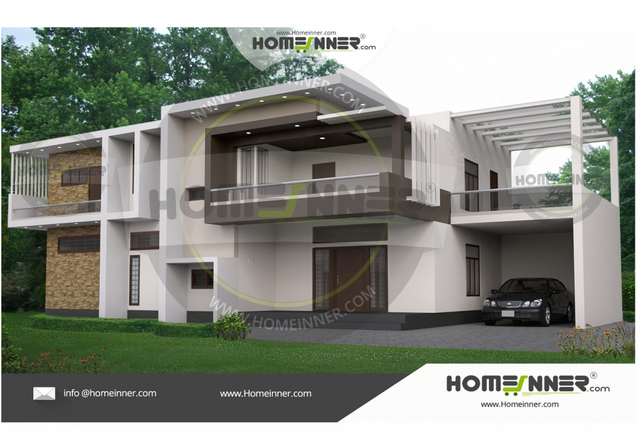 Shimla 12 Lakh contemporary house plans and elevations