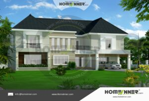 HIND-6011 house plan area