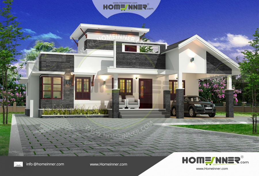 West Tripura 14 Lakh simple small home plans