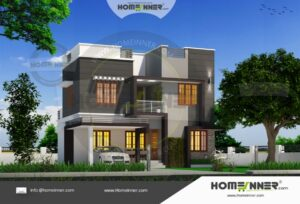 North 24 Parganas 18 Lakh small house plan with elevation