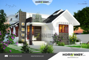 South Tripura 7 Lakh small house front elevation designs images