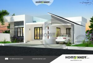 South Tripura 9 Lakh small floor plan house
