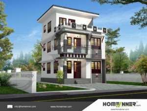 HIND-8000 house plan area
