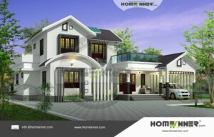 Morena 43 Lakh luxury home house plans