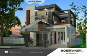 Kannauj 15 Lakh duplex home design plans