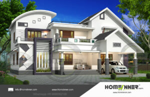 HIND-9001  Home Design Free Estimate  villa construction budget