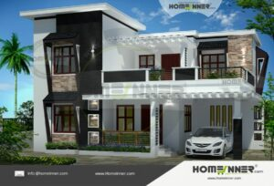 Champawat 35 Lakh beautiful house front elevation