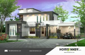 Bharuch 22 Lakh contemporary one floor house plans