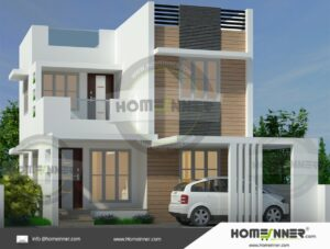 HIND-9031 House plan 3D Elevations