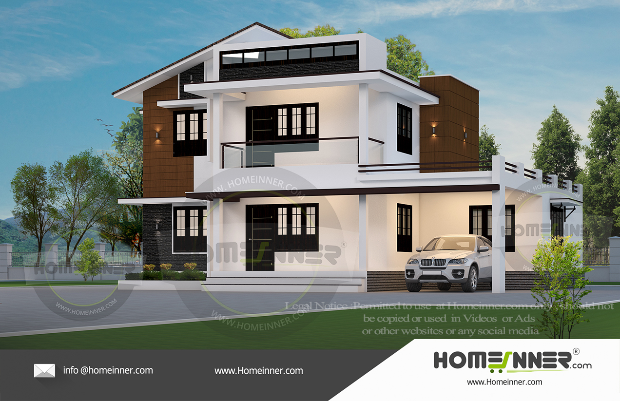 South Tripura 23 Lakh modern small cottage plans
