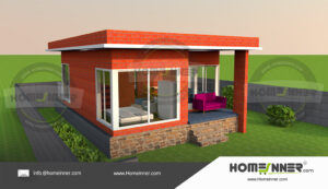 HIND-104606000 House plan 3D Elevations