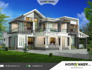 HIND-1008 house plan area
