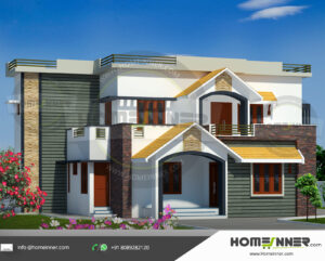 HIND-1075 house plan Rooms Amenities