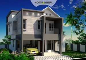 HIND-11036 house plan Rooms Amenities