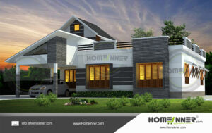 HIND-11069 house plan Rooms Amenities
