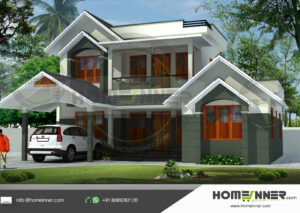 HIND-11072 house plan size