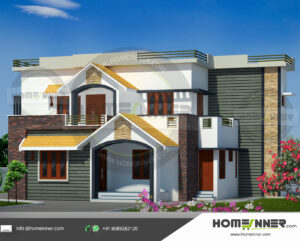 HIND-11075 house plan Rooms Amenities