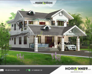 HIND-11077 house plan size