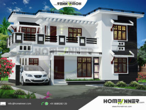 HIND-21053 house plan Rooms Amenities