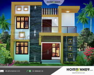 HIND-21059 house plan Rooms Amenities