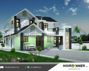 HIND-21068 house plan Rooms Amenities