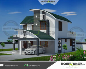 HIND-21071 house plan Rooms Amenities