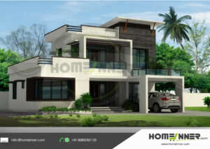 HIND-21072 house plan size