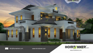 HIND-30902 House plan 3D Elevations