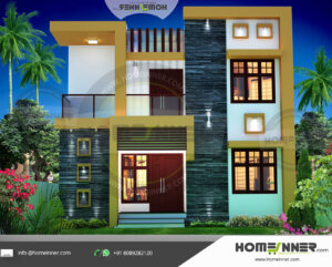 HIND-31059 house plan size